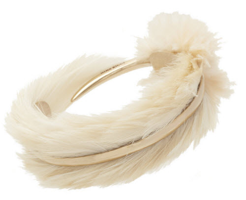 Nina Ricci Feather Cuff