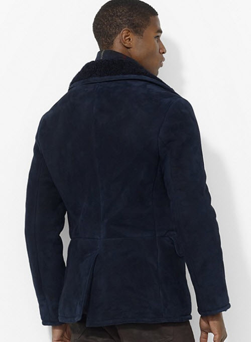 Polo Ralph Lauren Shearling Pea Coat 2