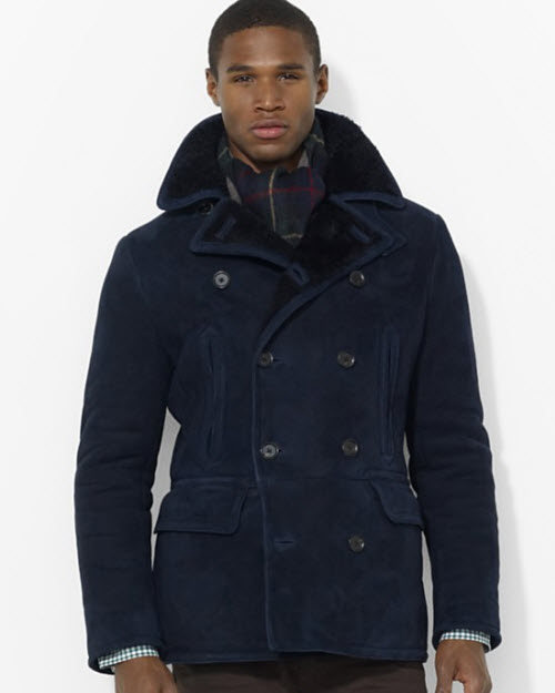 Polo Ralph Lauren Shearling Pea Coat