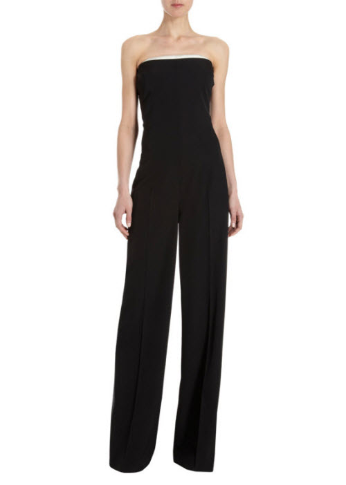 Stella McCartney Satin Trimmed Jumpsuit