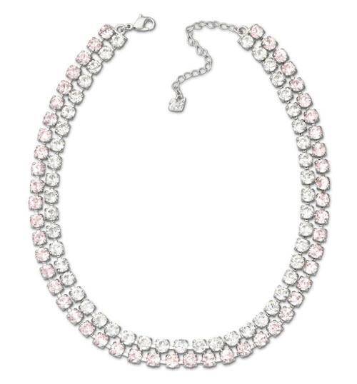 Swarovski Hot All-Around Vintage Rose Necklace