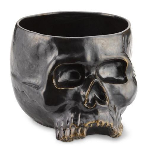 Williams-Sonoma Halloween Skull Punch Bowl 3