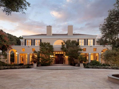 $10.4 Million Italian Villa in Hidden Valley California