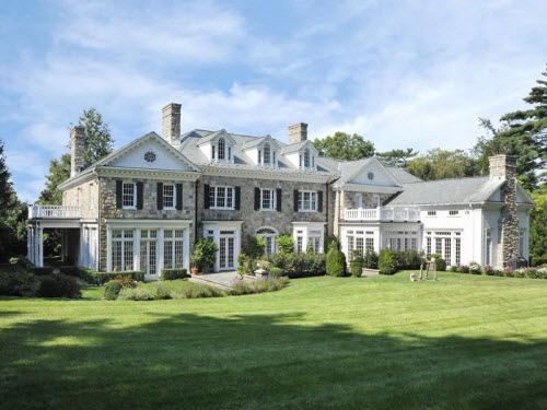 $11.9 Million Stunning Stone Georgian Mansion in Greenwich Connecticut 2