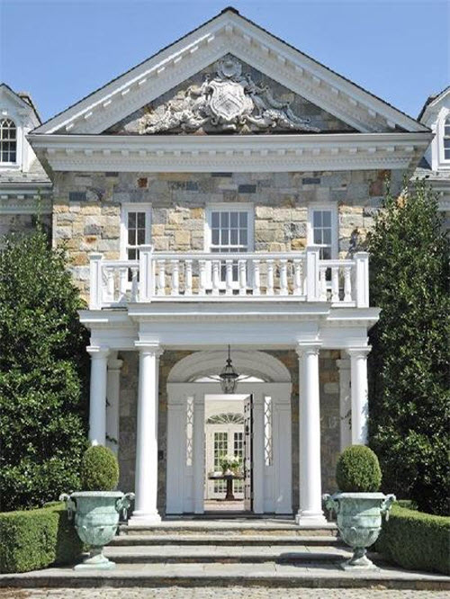 $11.9 Million Stunning Stone Georgian Mansion in Greenwich Connecticut 3