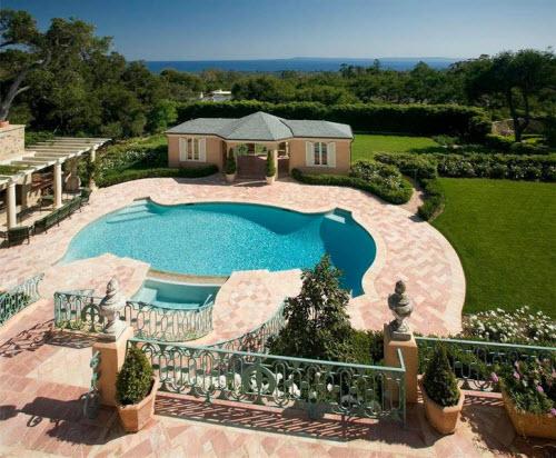 $16.7 Million Classic French Regency Estate in Montecito California 13