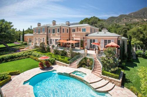 $16.7 Million Classic French Regency Estate in Montecito California