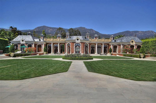 $16.9 Million Exquisite French Chateau in Montecito California 12