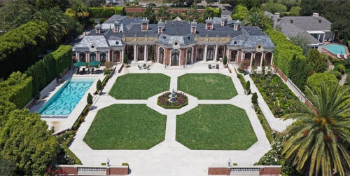 $16.9 Million Exquisite French Chateau in Montecito California