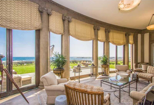 estate of the day 19 million oceanfront mansion in