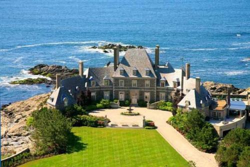 $19 Million Oceanfront Mansion in Newport Rhode Island