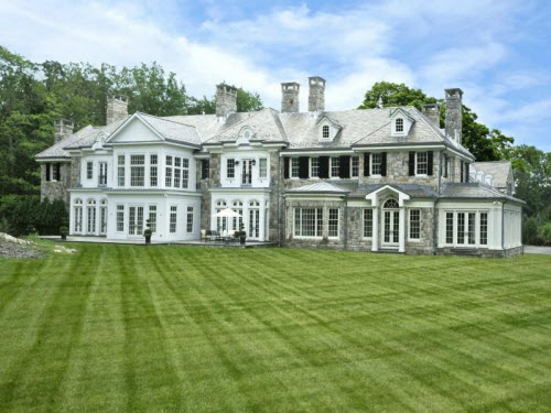 $19.9 Million Extraordinary Stone Georgian Mansion in Greenwich Connecticut 14