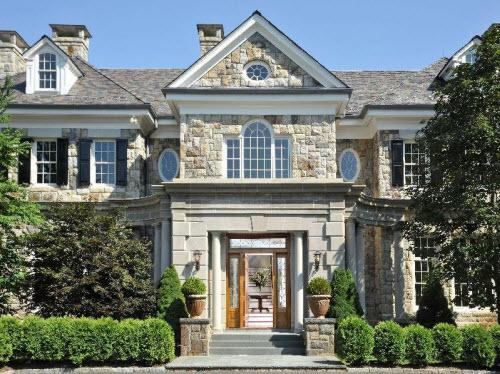 $19.9 Million Extraordinary Stone Georgian Mansion in Greenwich Connecticut 2