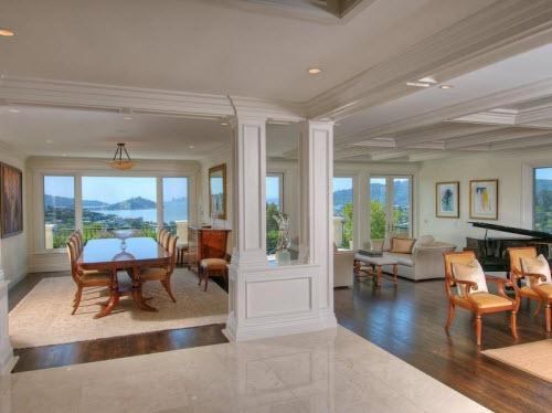 $6.4 Million Grand Estate in Tiburon California 9