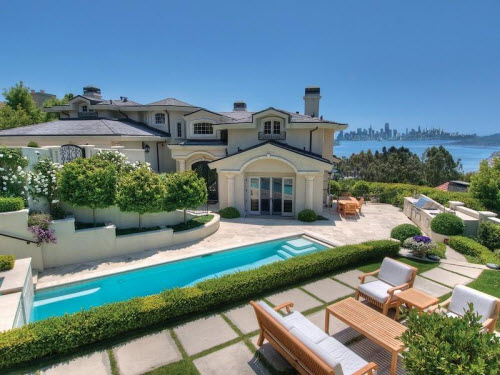 Estate Of The Day 6 4 Million Grand Estate In Tiburon