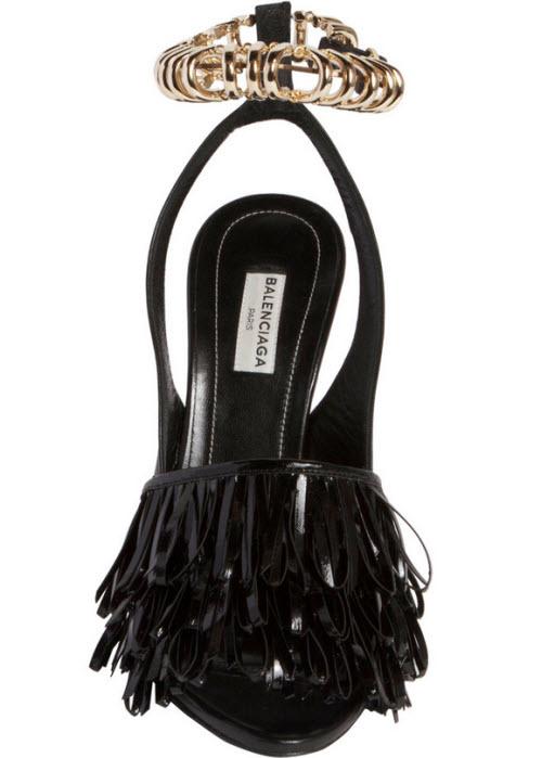Balenciaga Chain Track Sandal 2