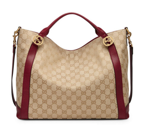 Gucci Miss GG Medium Original GG Canvas Top Handle Bag