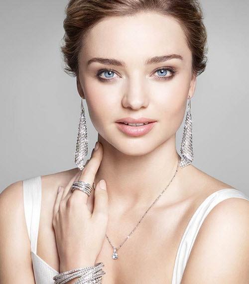 Swarovski Fit Silver Shade Pierced Earrings