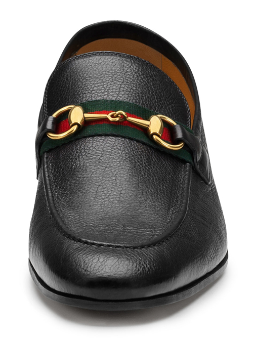 Gucci Elanor Leather Horsebit Loafer 2