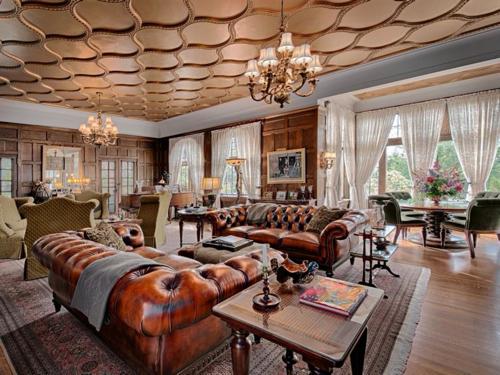 $4.9M English Manor Home in Asheville North Carolina 7