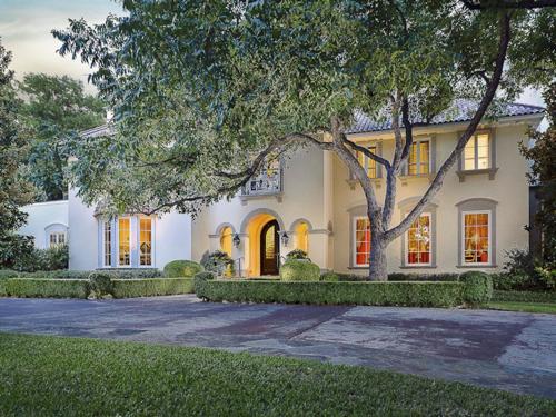$7.2 Million Majestic Mediterranean Estate in Dallas Texas