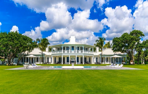 $72 Million Luxurious Bahamian Inspired Mansion in Florida