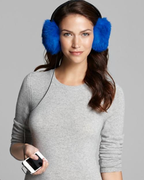 Bodhi Fur Audio Earmuffs