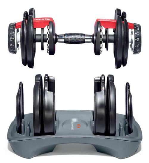 Bowflex SelectTech 552 Adjustable Dumbbells 2