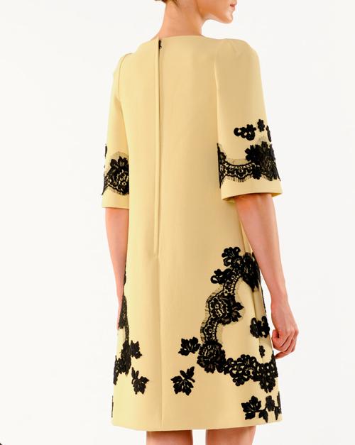 Dolce & Gabbana A-Line Lace Applique Dress 2