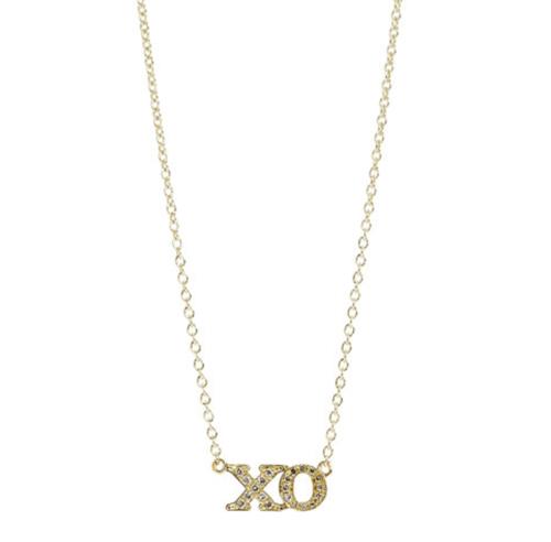 Jennifer Meyer XO Pendant Necklace