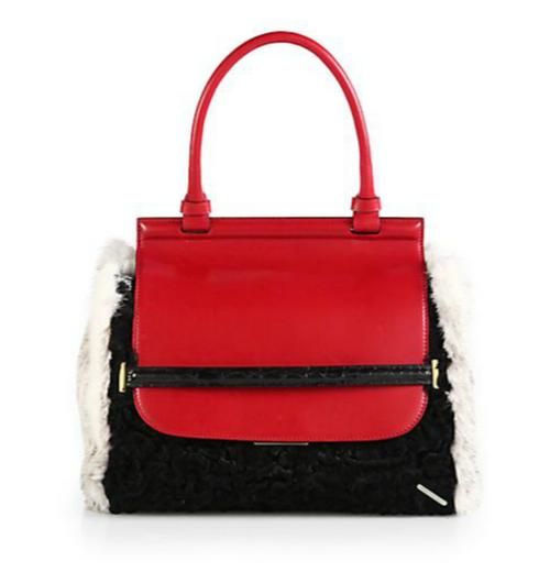 The Row Exotic Mixed Media Top-Handle Bag
