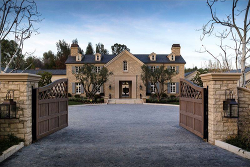 $20.9 Million French Country Estate in Hidden Hills California