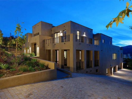 $5.8 Million Contemporary Estate in Los Angeles California 21