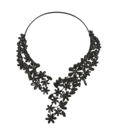 BCBG Max Azria Stone Floral Necklace 2