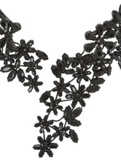 BCBG Max Azria Stone Floral Necklace 3