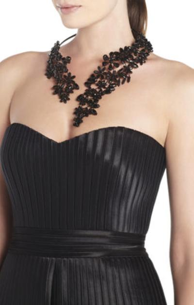 BCBG Max Azria Stone Floral Necklace
