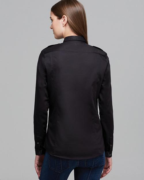Burberry Brit Check Cuff Button Down Shirt 2