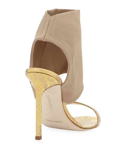 Manolo Blahnik Saccopen Combo Glove Sandal 2