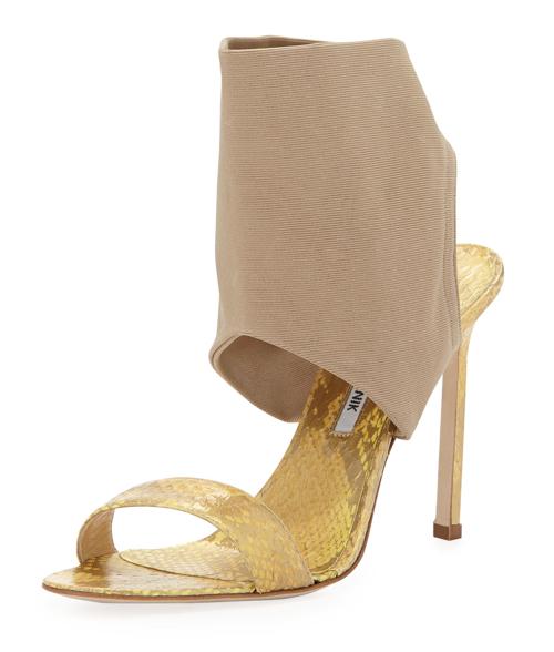 Manolo Blahnik Saccopen Combo Glove Sandal