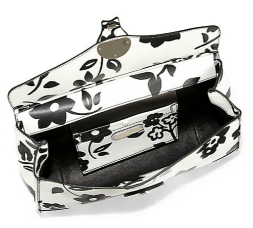 Ralph Lauren Collection Ricky Printed Leather Clutch 2