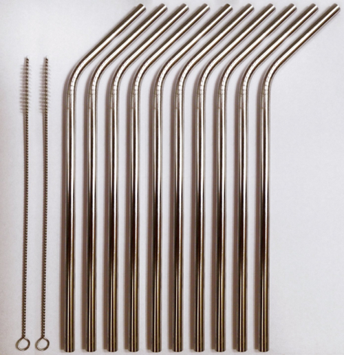 Reusable Metal Drinking Straws 2