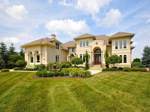 $1.9 Million Mediterranean Estate in Fishers Indiana