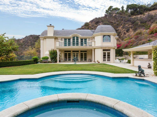 $11.9 Million Mediterranean Contemporary Bel Air Mansion in Los Angeles California 3