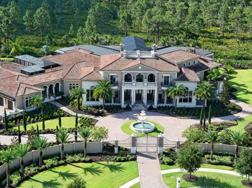 $16.5 Million Italian Mansion in Florida