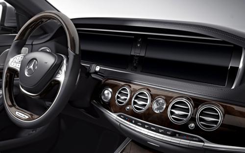 2014 Mercedes-Benz S-Class S550 4