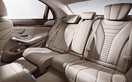2014 Mercedes-Benz S-Class S550 7