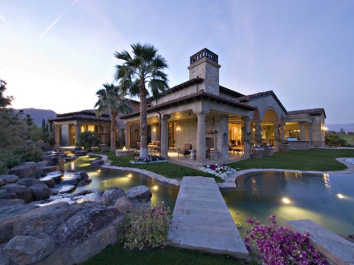 Estate of the day 7 9 million elegant tuscan estate in for Tuscan california