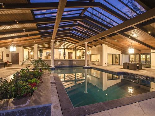 $8.8 Million Gorgeous Modern Ranch in California 14