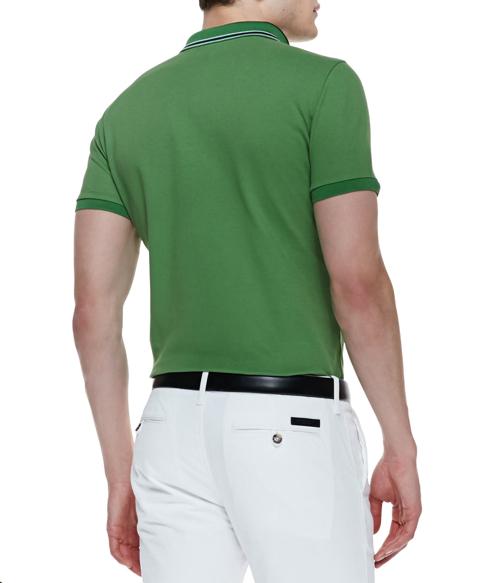 Burberry London Short-Sleeve Polo Shirt 2