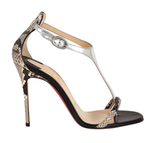 Christian Louboutin Athena Alta T-Strap Sandals 3